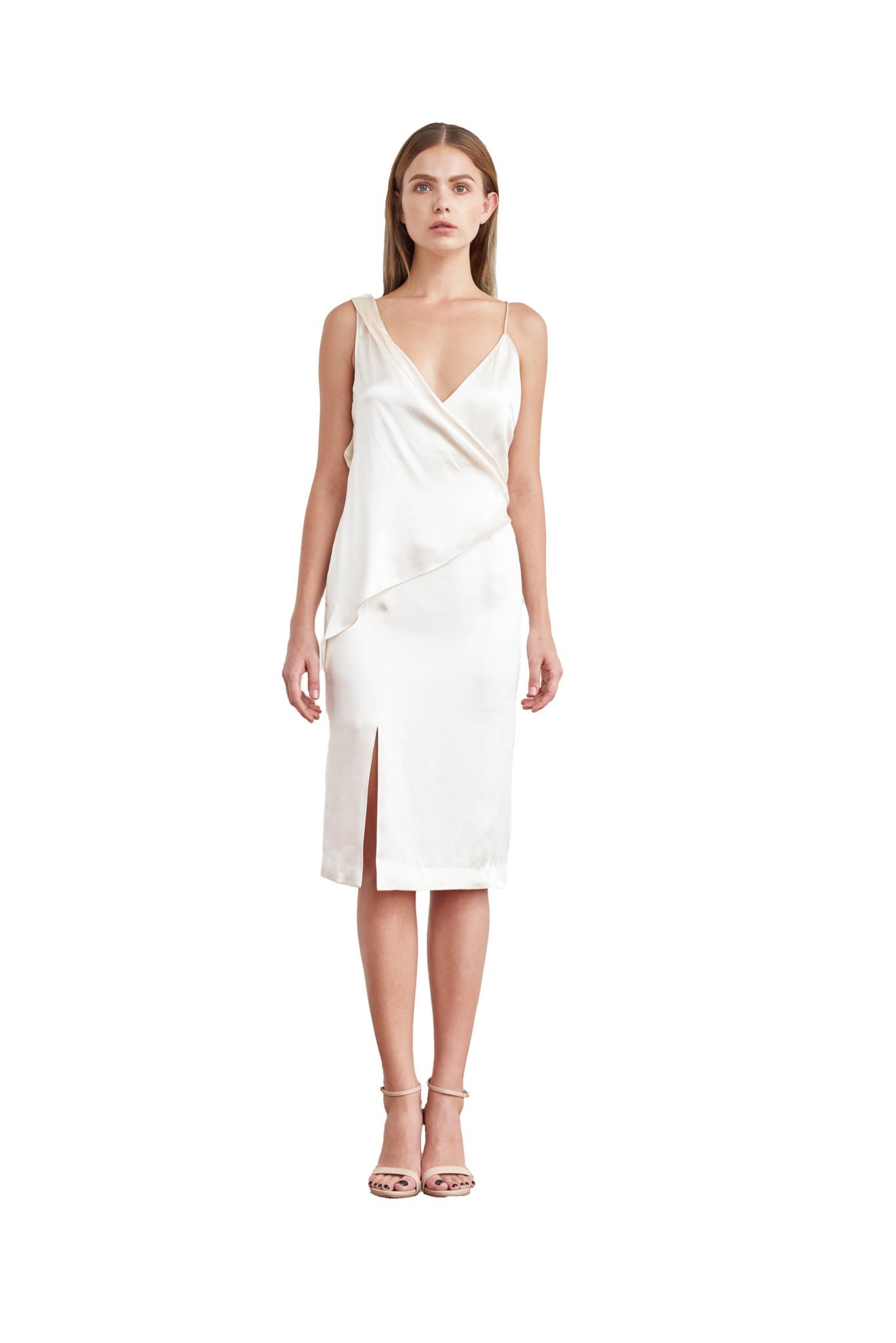 9b533667fb08 Home / DRESSES / Stella draped slip dress