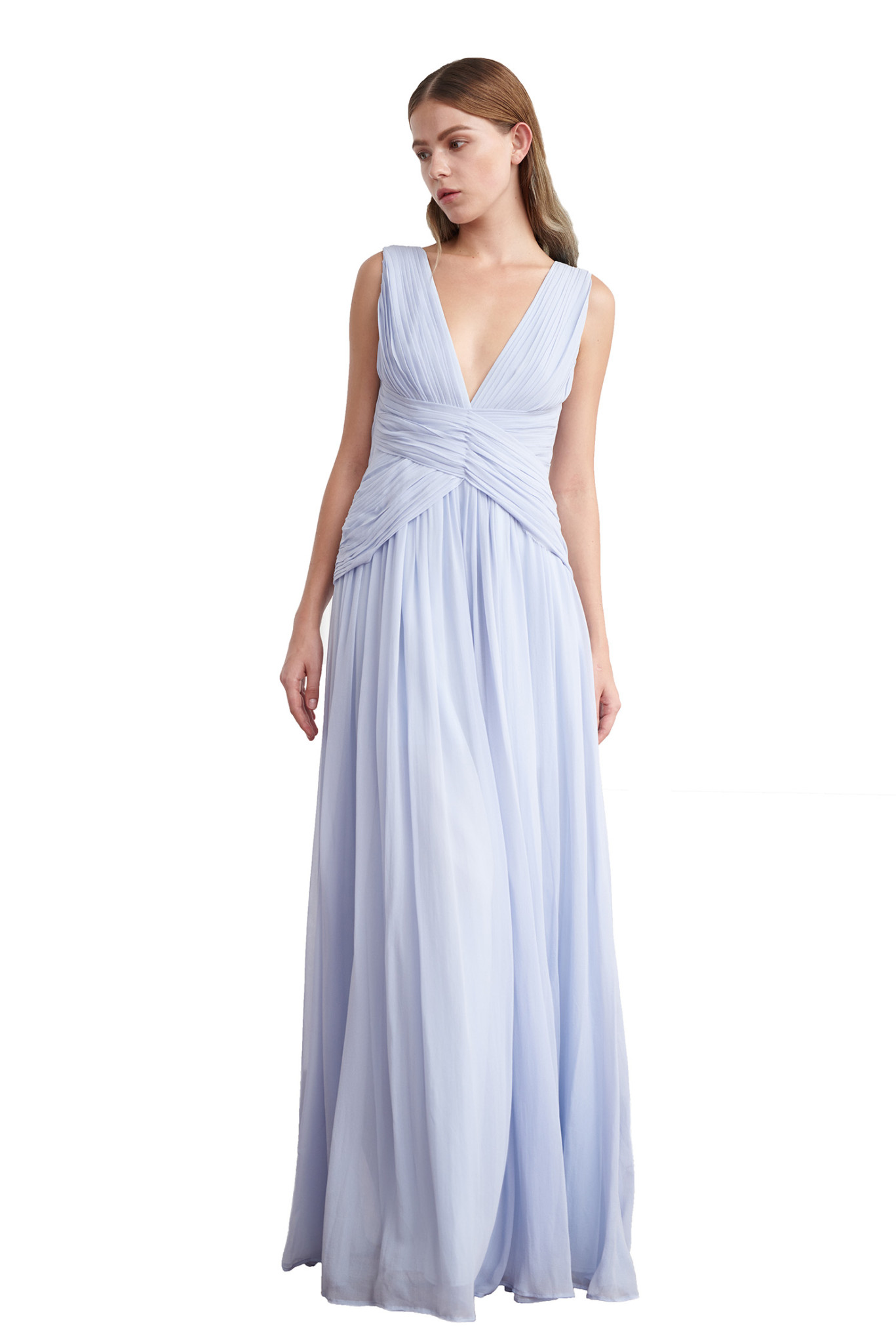 Afrodite pleated gown - Viktoria Chan