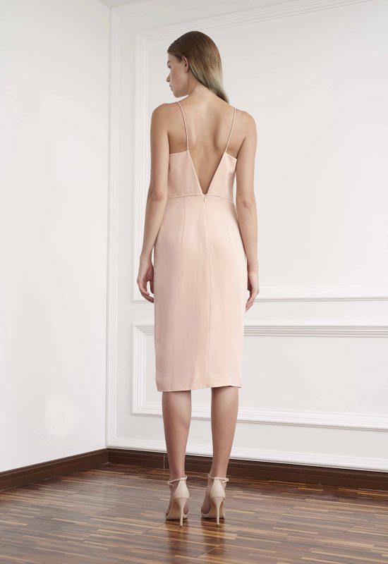 Stella silk crepe dress - Viktoria Chan